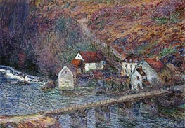 The Bridge at Vervy   Monet   Painting Reproduction