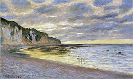 Pointe De Lailly, Maree Basse | Monet | Painting Reproduction