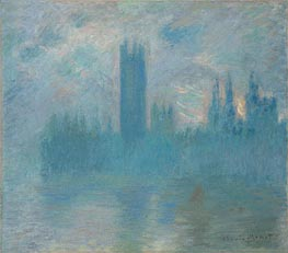 Parlamentsgebäude, London | Monet | Gemälde Reproduktion