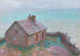 The Customs House at Varengeville | Monet | Painting Reproduction