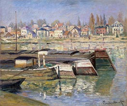 Seine at Asnieres | Monet | Painting Reproduction