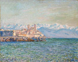 The Fort of Antibes | Monet | Gemälde Reproduktion