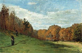 Woodgatherers at the Edge of the Forest | Monet | Painting Reproduction