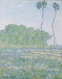 Meadow at Giverny | Monet | Painting Reproduction