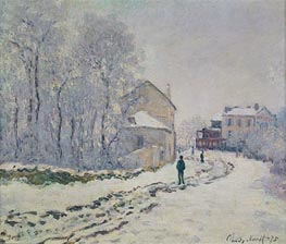 Snow in Argenteuil | Monet | Painting Reproduction