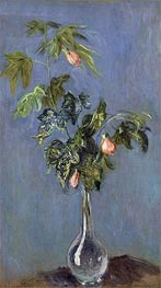 Flowers in a Vase | Monet | Painting Reproduction