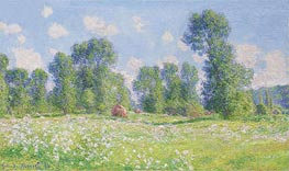 Spring in Giverny | Monet | Gemälde Reproduktion