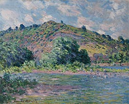 Banks of the Seine at Port-Villez | Monet | Painting Reproduction