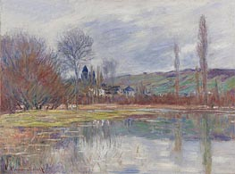 Spring in Vetheuil | Monet | Painting Reproduction