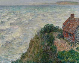 Fisherman's House at Petit Ailly | Monet | Painting Reproduction