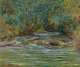 River Epte at Giverny, Summer | Monet | Painting Reproduction