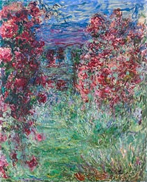 The House among the Roses | Monet | Painting Reproduction