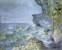 The Sea at Fecamp | Monet | Painting Reproduction