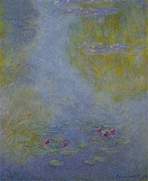 Water Lilies (Nympheas) | Monet | Painting Reproduction