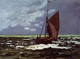Stormy Seascape | Monet | Painting Reproduction
