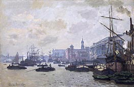 The Thames at London | Monet | Painting Reproduction