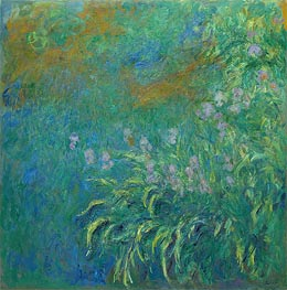 Irises | Monet | Painting Reproduction