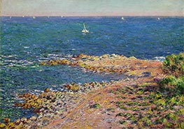The Mediterranean by Mistral Wind | Monet | Painting Reproduction