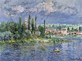 Vetheuil, 1880 by Monet | Painting Reproduction