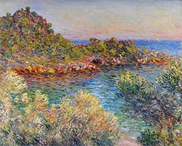 Near Monte Carlo, 1883 by Monet | Painting Reproduction
