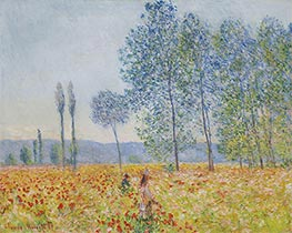 Under the Poplars | Monet | Painting Reproduction