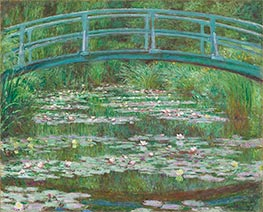 The Japanese Footbridge, 1899 von Monet | Gemälde-Reproduktion