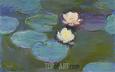 Water Lilies, c.1897/98 | Monet | Painting Reproduction