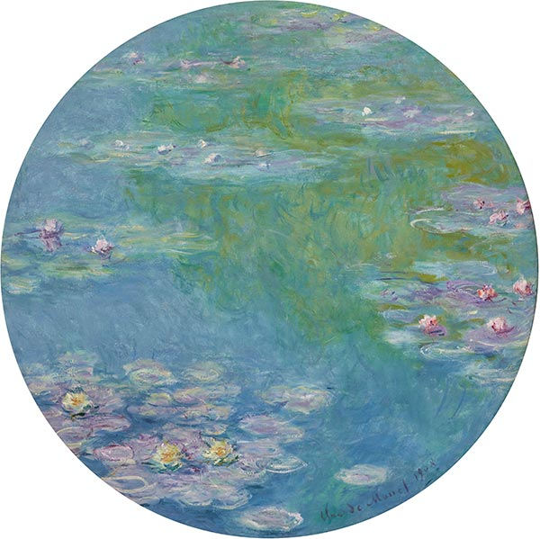 Water Lilies, 1908 | Monet | Painting Reproduction