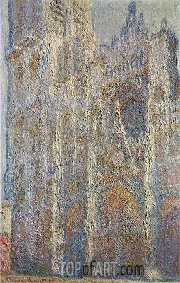 Rouen Cathedral at Midday, 1894 | Monet | Gemälde Reproduktion