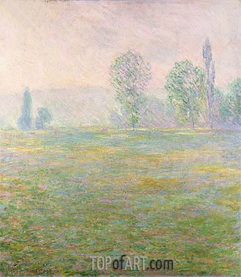 Meadows at Giverny, 1888 | Monet | Painting Reproduction