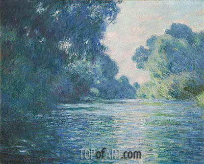 Branch of the Seine near Giverny, 1897 | Monet | Gemälde Reproduktion