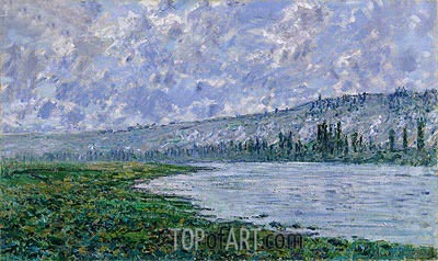 The Seine at Vetheuil, 1880 | Monet | Painting Reproduction