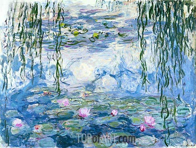 Water Lilies, c.1916/19 | Monet | Painting Reproduction