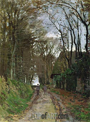Path in Normandy, undated | Monet | Painting Reproduction