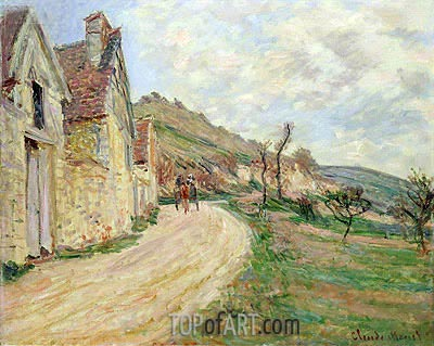 The Rocks at Falaise, undated | Monet | Painting Reproduction