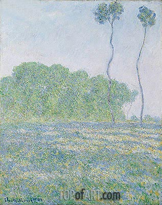 Meadow at Giverny, 1894 | Monet | Painting Reproduction