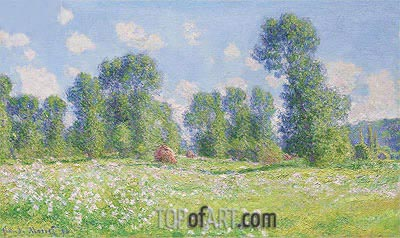 Spring in Giverny, 1890 | Monet | Painting Reproduction