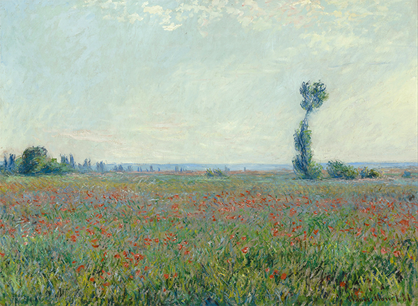 Poppy Field, 1926   Monet   Painting Reproduction