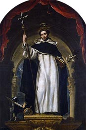 Saint Dominic of Guzman, c.1685 by Claudio Coello | Painting Reproduction