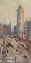 Flat Iron Building, 1904 by Colin Campbell Cooper | Painting Reproduction