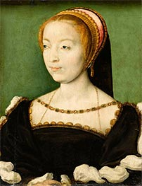 Louise de Rieux, c.1550 by Corneille de Lyon | Painting Reproduction