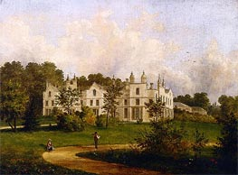 King's Walden, Hertfordshire, 1846 by Cornelius Krieghoff | Painting Reproduction