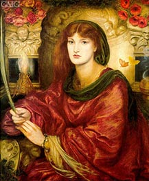 Sibylla Palmifera | Rossetti | Painting Reproduction