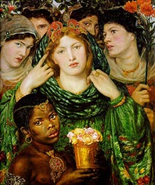 The Beloved (The Bride), c.1865/66 by Rossetti | Painting Reproduction