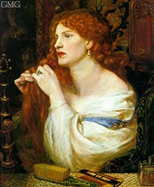 Aurelia (Fazio's Mistress) | Rossetti | Painting Reproduction