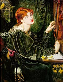 Veronica Veronese, 1872 by Rossetti | Painting Reproduction