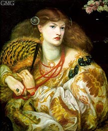 Monna Vanna, 1866 by Rossetti | Painting Reproduction