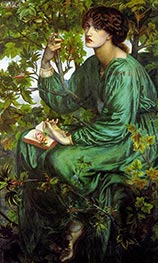 The Day Dream | Rossetti | Painting Reproduction