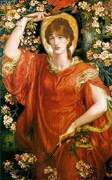 A Vision of Fiammetta | Rossetti | Painting Reproduction