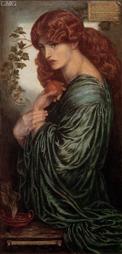 Proserpine, c.1881/82 | Rossetti | Painting Reproduction